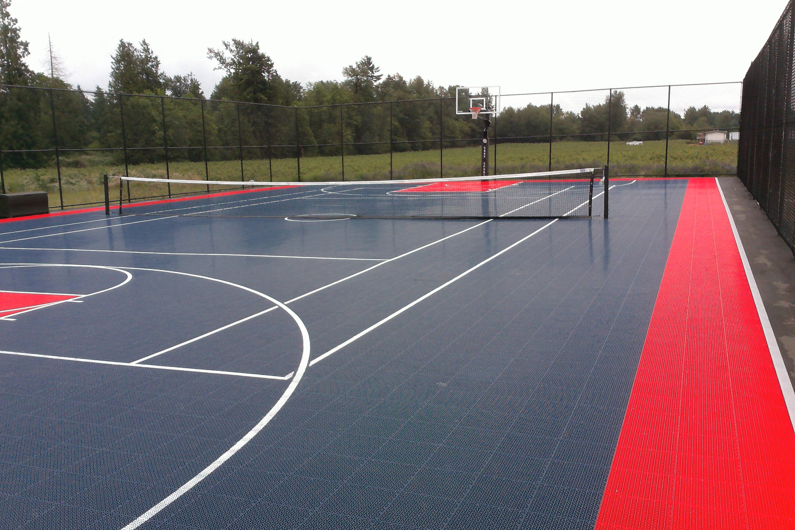 Tennis Court in Abbotsford