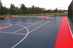 Tennis Court in Abbotsford