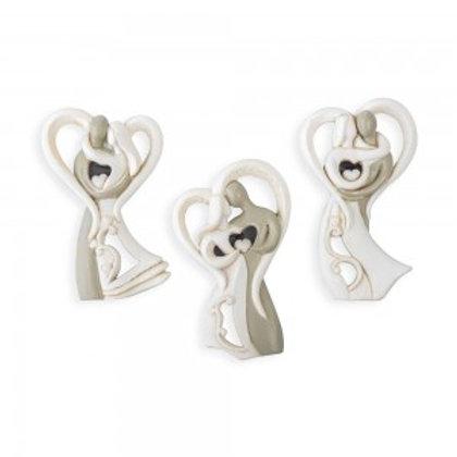 Applicazione coppia sposi magnete