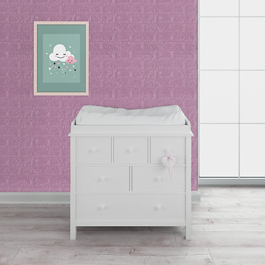 Rosa Pastel - Panel Soft