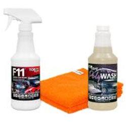 TopCoat F11, Polywash and 2 Micro-Fiber Towels
