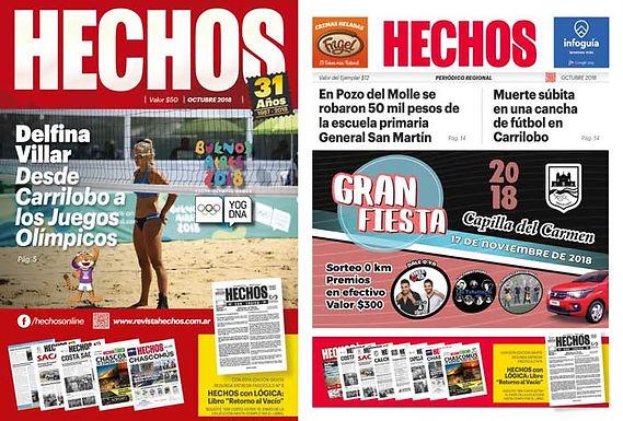 ⚠ Ya apareció Revista y Periódico Hechos😀