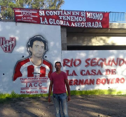 Homenaje a Hernán Boyero en Río Segundo