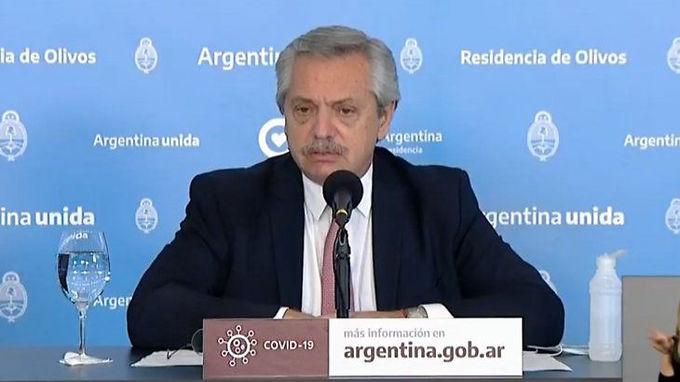 El presidente dijo que Argentina tendría que volver a fase 1 de la Cuarentena