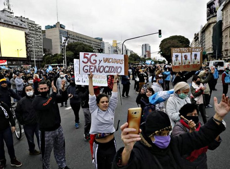 """El Gobierno  Nacional criticó duramente a los """"anticuarentena"""""""