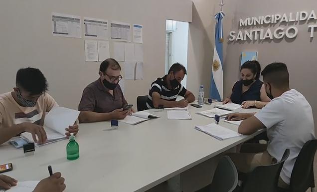 Cambios en el Concejo Deliberante de Santiago Temple
