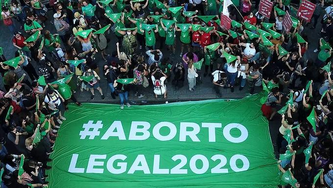 El Senado sancionó la Ley de Interrupción Voluntaria del Embarazo