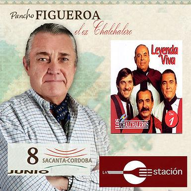El Chalchalero Pancho Figueroa en Sacanta
