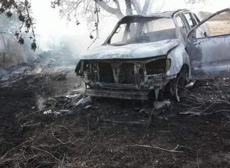 Posible femicidio cerca de Villa del Rosario