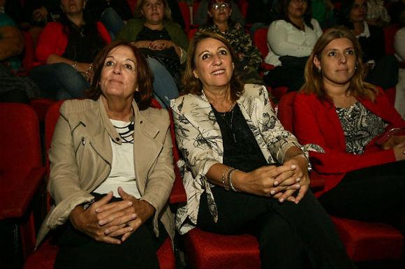 """Fein cerró el ciclo """"Mujeres liderando la política"""