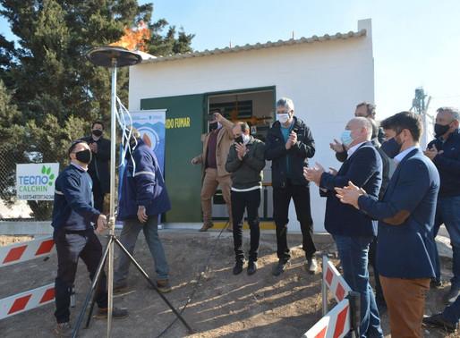 Gas Natural en la Planta Tecno Calchín SRL