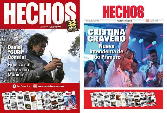 ⚠ Atención! Ya apareció Revista y Periodico Hechos de Junio.. ✨