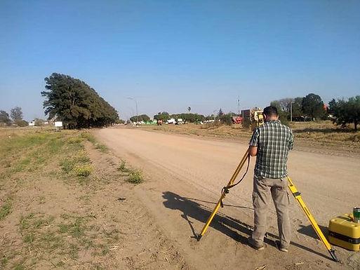 Comenzaron los trabajos en la obra pavimentación ruta S-390