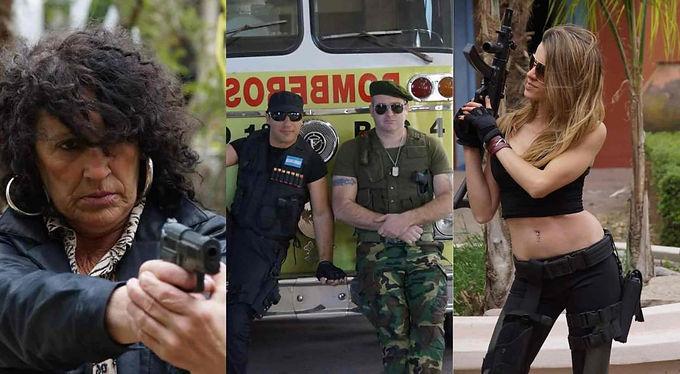 """""""Dos locos en acción"""", la película producida en Río Primero, ya está disponible en YouTube"""