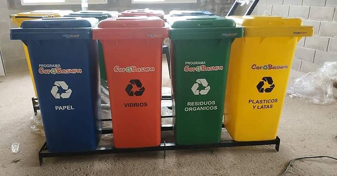 Calchín, nuevos contenedores del Programa Cero Basura