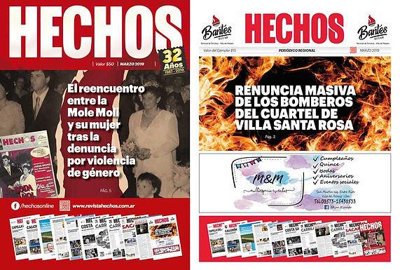 ⚠ Atención! Ya apareció Revista y Periódico HECHOS. 😁