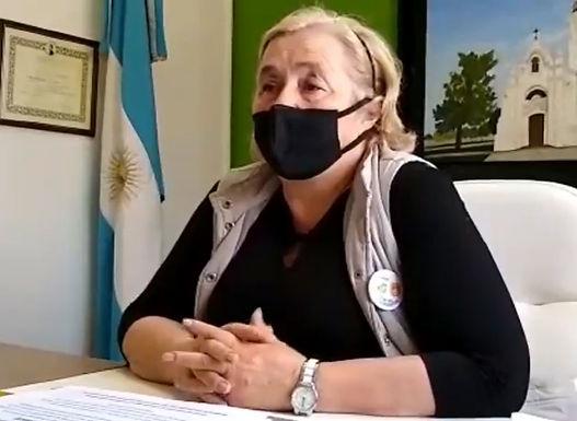 Elena Massimino anunció que Los Chañaritos tiene su primer Covid-19