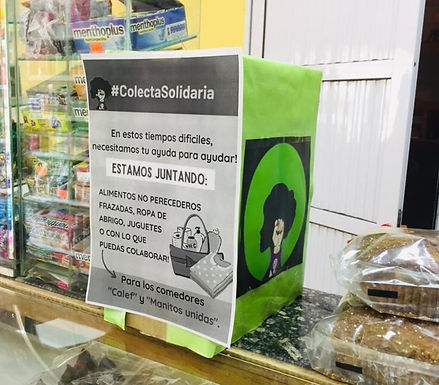 Comenzó una colecta solidaria a favor de dos comedores de Villa del Rosario