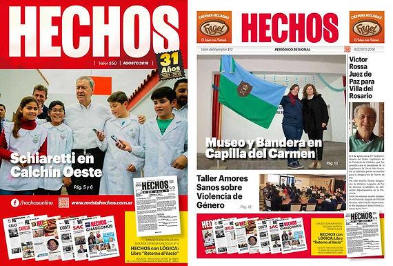 🔊Ya apareció Revista y Periódico HECHOS!✨