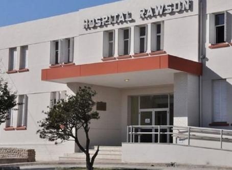 Se detectó un brote de coronavirus en personal del Hospital Rawson
