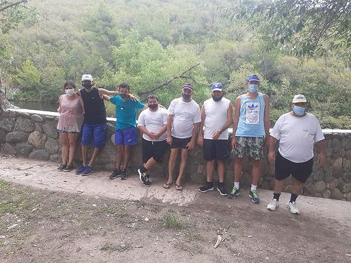 El Taller de Deporte adaptado de Carrilobo sale de paseo por las sierras