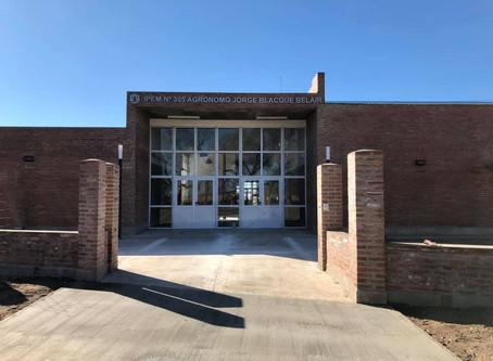Nuevo Colegio Secundario en Costa Sacate