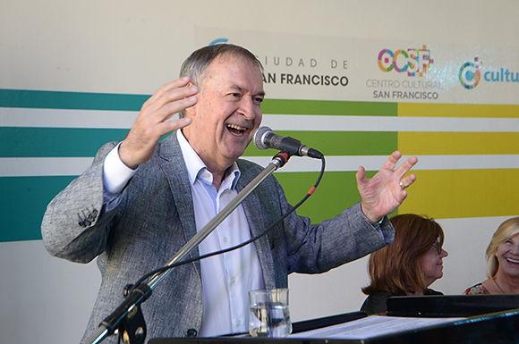El Centro Cultural San Francisco, otro polo de la industria audiovisualSchiaretti inauguró un nuevo