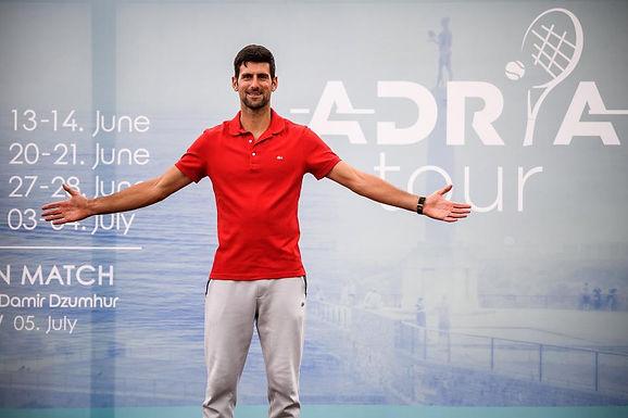 Conmoción en el mundo del tenis Novak Djokovic dio positivo de coronavirus