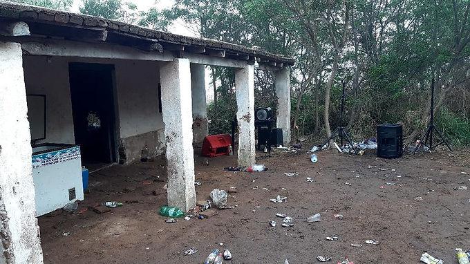 Desarticularon una fiesta clandestina en la zona rural de Río Primero
