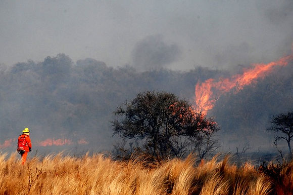 El Boletín Oficial publicó el decreto de prohibición de fuego