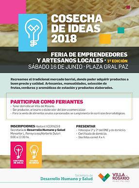 1° Edición Feria de Emprendedores y Artesanos Locales