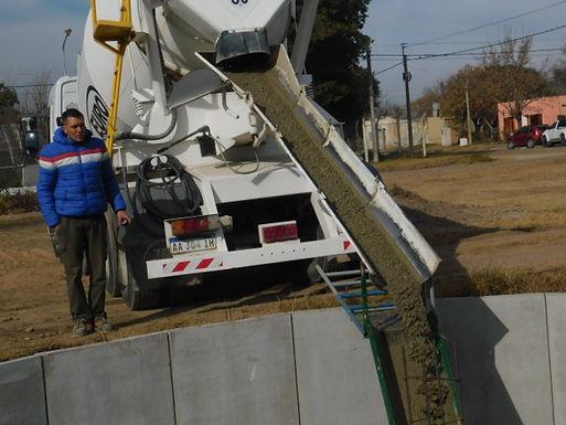 Construcción nuevo depósito de agua en Las Junturas