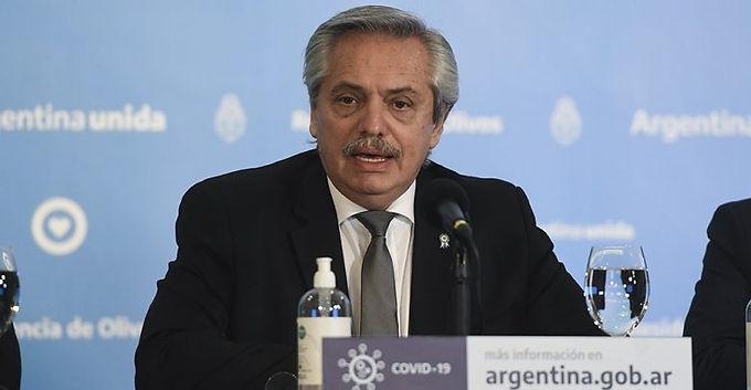 El Presidente Alberto Fernández anunció el cambio de fase en el Amba