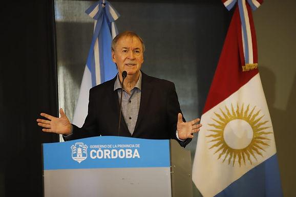 Batería de anuncios del gobernador Juan Schiaretti