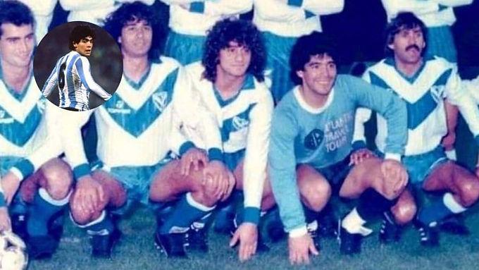"""Cuando el """"Gato"""" Bujedo usó la 10 de Maradona por un ratito"""