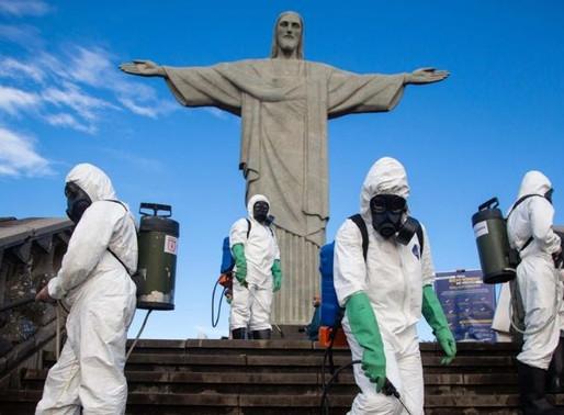Abrió el Cristo Redentor en Río de Janeiro