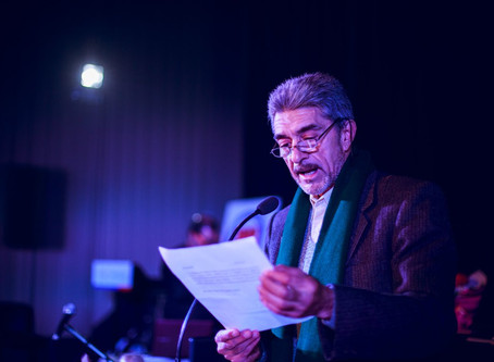 """Juan Carlos Frontera presentó su trabajo: """"Historia de una agresión brutal"""""""