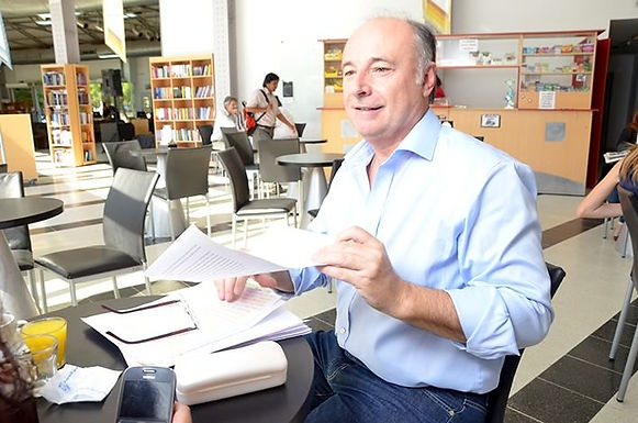 El exintendente Accastello está trabajando en Radio Villa María