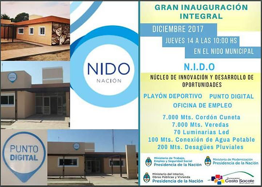 Inaugurarán importantes obras en Costa Sacate