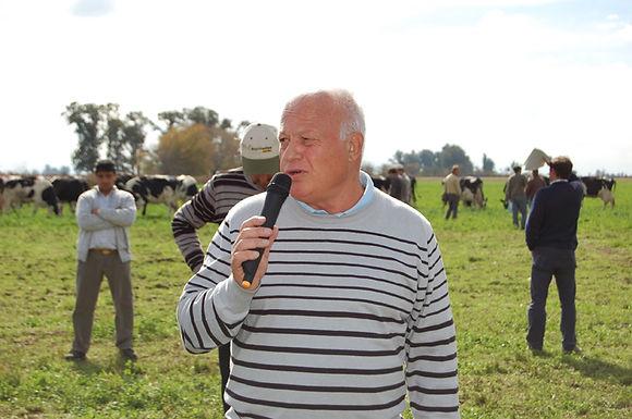 Falleció un referente de la lechería argentina
