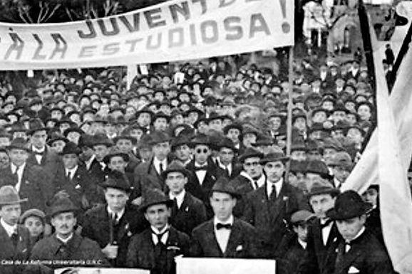 Efemérides: 1918-15 de junio-2020. A 102 años de la Reforma Universitaria