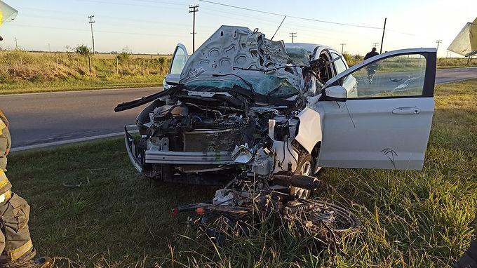 Arroyito: accidente fatal en la ruta 19