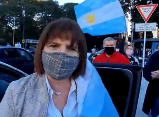 Patricia Bullrich tiene coronavirus