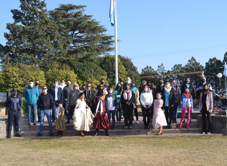 Día de la Bandera en Costa Sacate