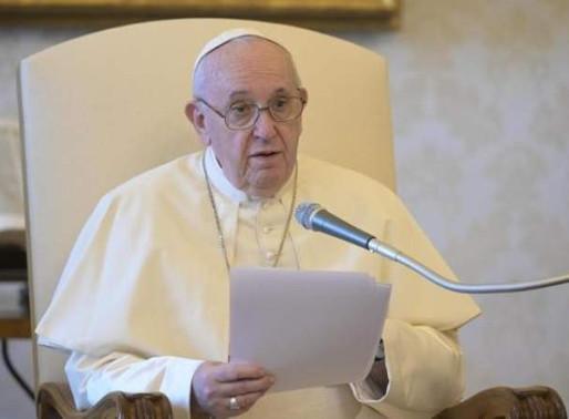 El Papa Francisco señaló que sería triste que con la vacuna del Covid-19 se priorice a los ricos