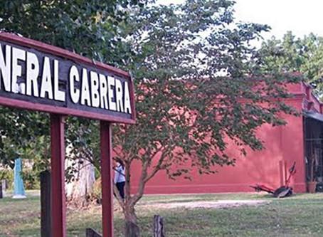General Cabrera en estado complicado