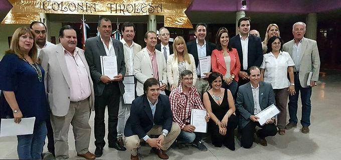Fondos de Nación para informatizar la Municipalidad de Las Junturas