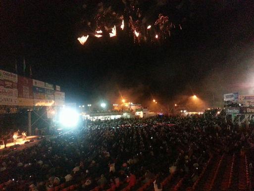 Con ritmo mansero, abrió el Festival de Folclore en el Agua