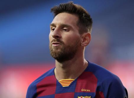 Conmoción Mundial Messi quiere dejar el Barcelona