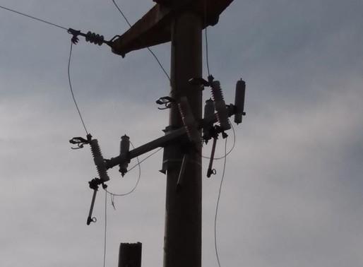 Robo de un transformador de media tensión en la zona rural de Villa del Rosario